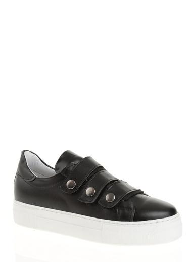 Derigo Bant Detaylı Ayakkabı Siyah